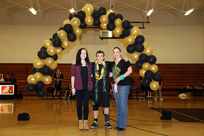 El Dorado Boys Volleyball Senior Night at El Dorado High School in Placentia, California on May 3, 2016. Photo: Chris Anderson/114Photography