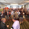 Attendees network at the Energy Inc Summit.