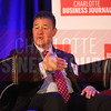 Lee Mazzocchi of Duke Energy speaks during a panel discussion at the Energy Inc Summit.