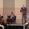 Gary Rackliffe, vice president of Smart Grids North America, speaks during a break out session about future energy tech.