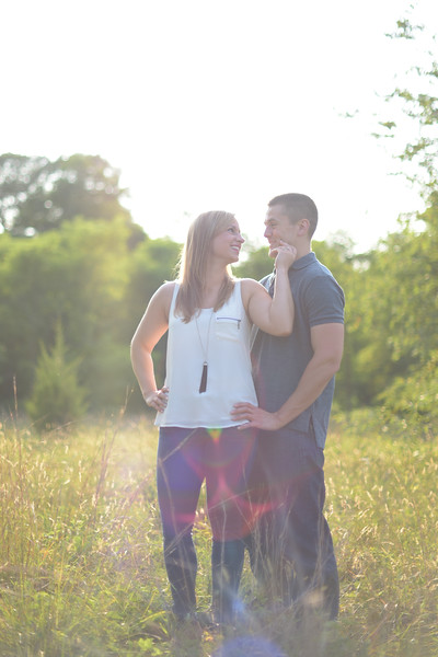 Alicia and Dan's East Haddam Engagement Session