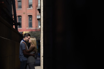 Carly and Brendan's NYC Engagement Session