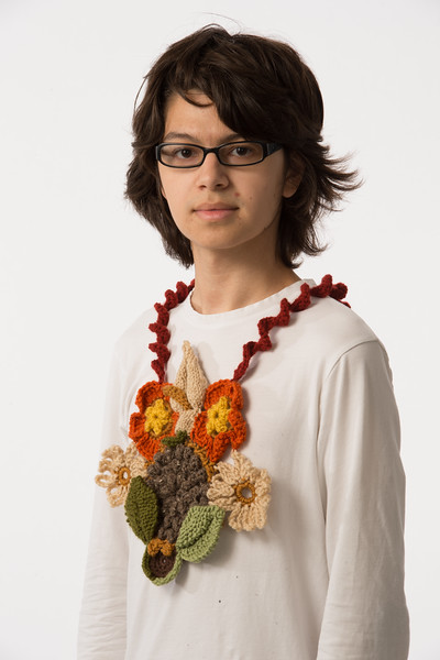 Student projects from professor Jozef Bajus's fiber design course at Buffalo State College.