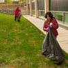UUP campus clean up at Buffalo State College.