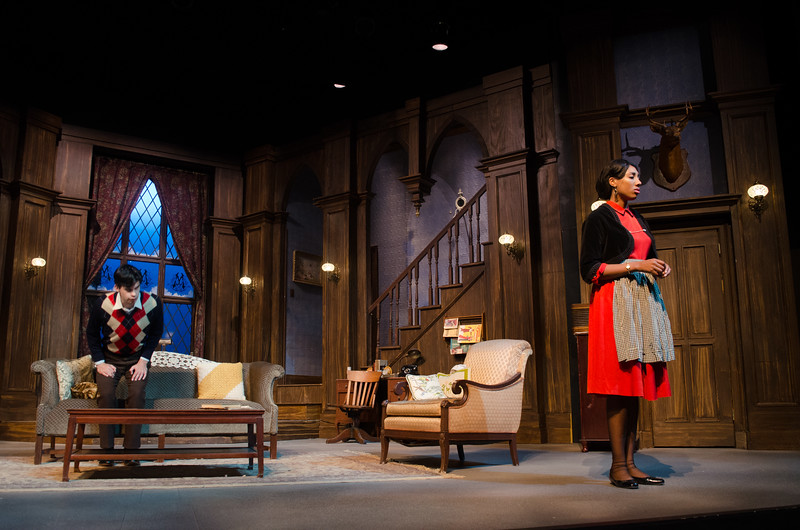 Buffalo State Theatre Department productions of The Mousetrap.