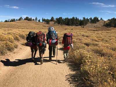 10/8/2016 Mt Pinos Backpack Weekend I