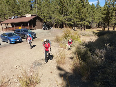10/9/2016 Mt Pinos Backpack Weekend II