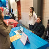 Computer Science Education Week poster presentations and tabling at Buffalo State College.