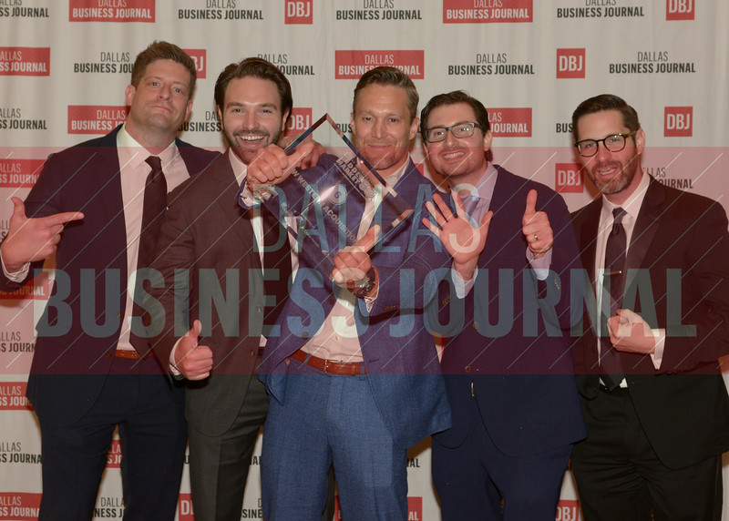 New Western Acqustions celebrates their  6th place finish in the Middle Market 50 awards held Thursday at The Ritz hotel in Dallas.