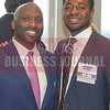 40 Under 40 honoree, Taj Clayton and Byron Sanders.