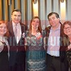 Caroline Nabicht, Hank Nabicht, 40 Under 40 honoree, Jennifer Sanders, Clay Sanders, Wendy Nabicht.