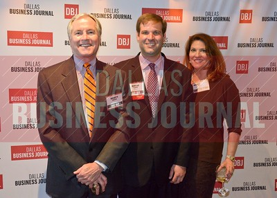 Scott Heape, 40 Under 40 honoree, David Heape and Mary Alice Heape.