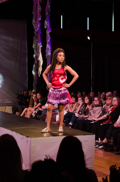 Fashion and Textile Technology Runway 9.0 fashion show at Buffalo State College.