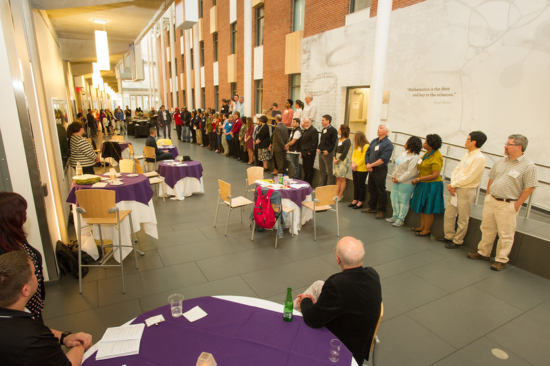 Research Recognition Reception at Buffalo State College.