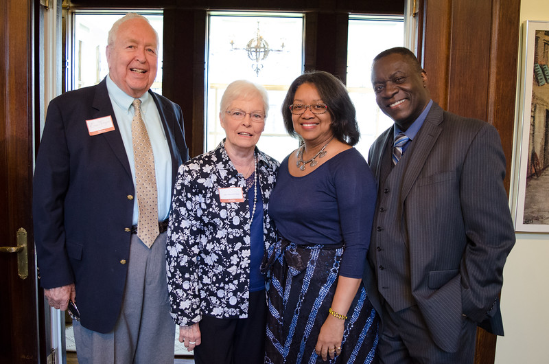 President's Circle reception at the President's House at Buffalo State College.