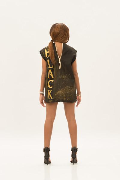 Fashion Student Association student fashion designs at Buffalo State College.