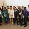 The International student undergraduate Ceremony.