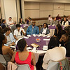 McNair Scholars lunch at Buffalo State College.