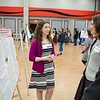 Volunteer and Service-Learning Center Celebration of Service and poster presentation