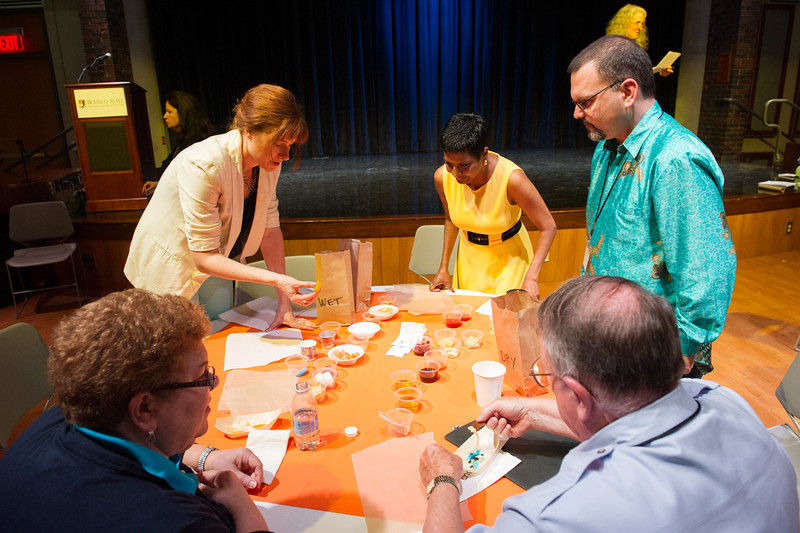 CEE creativity conference at Buffalo State College.