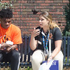 Freshman Orientation at SUNY Buffalo State.