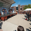 Homecoming Pep Rally at Buffalo State College.