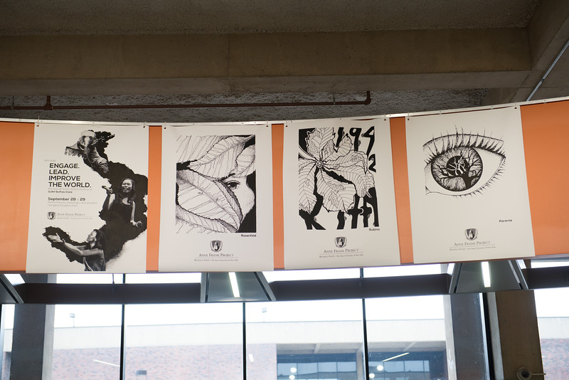 Day two of the Anne Frank Project Social Justice Festival at SUNY Buffalo State.