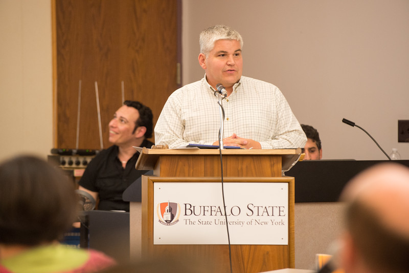 College Senate meeting at Buffalo State College.