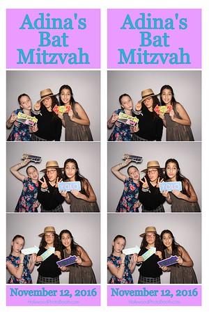 Adina's Bat Mitzvah