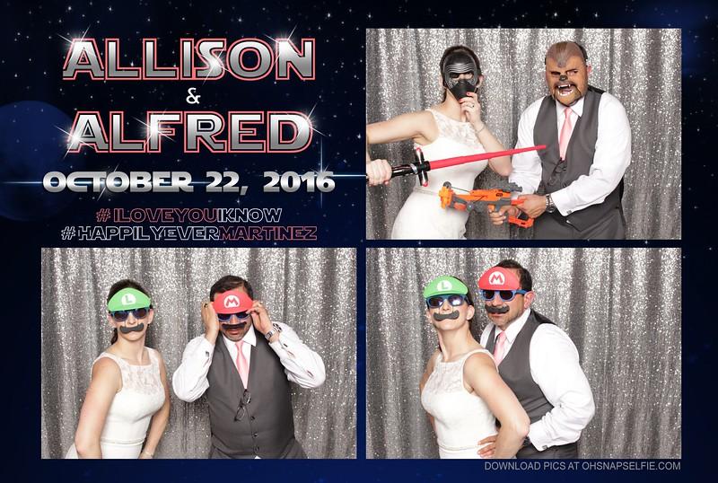 Alfred + Allison - 22 October 2016