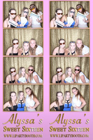 Alyssa's Sweet 16