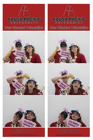 Azusa Pacific New Student 2016 Photo Booth
