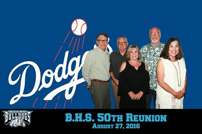 B.H.S. 50th Reunion - 8/27/2016