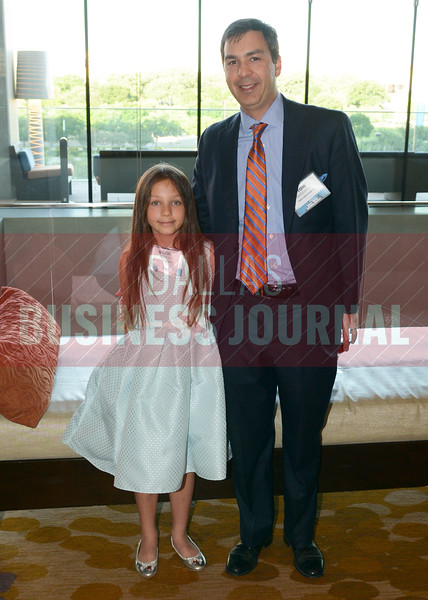 Tom Bakewell with daughter Kathryn Bakewell.