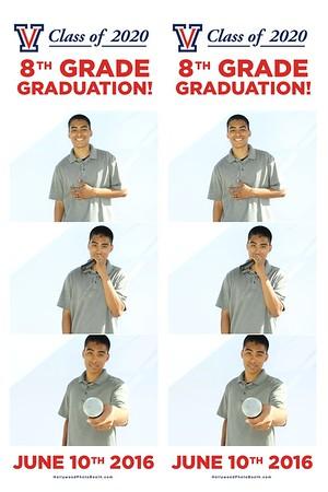 Class of 2020 8th Grade Graduation