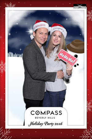 Compass Beverly Hills Holiday Party 2016 - 12/14/2016