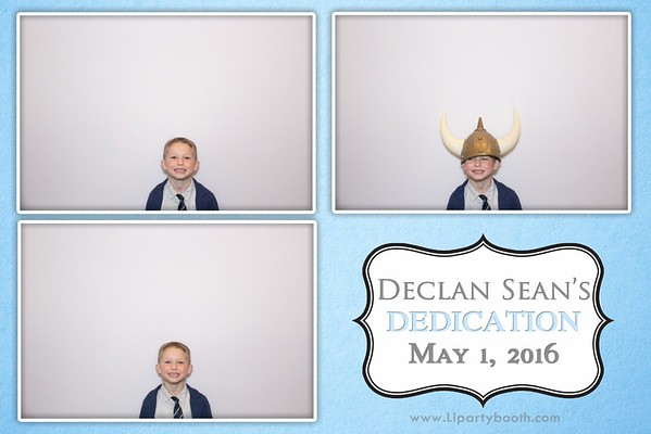 Declan's Dedication Celebration