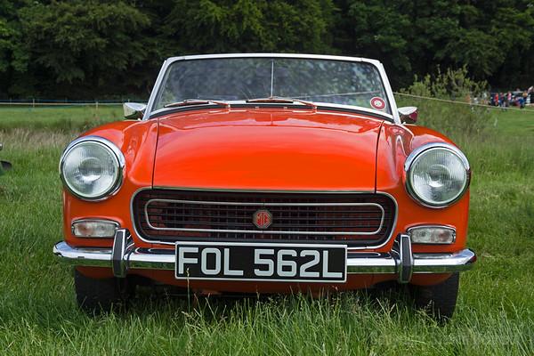 Hoghton Tower Classic Car Show 2016
