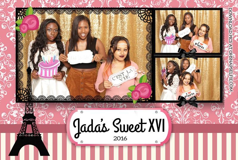 Jada's Sweet 16 - Sept 10, 2016