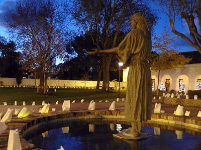 12-24-16 Luminarias by Columbian Squires
