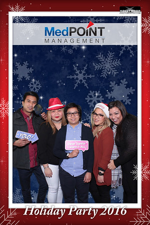 MedPOINT Management Holiday Party 2016 - 12/16/2016