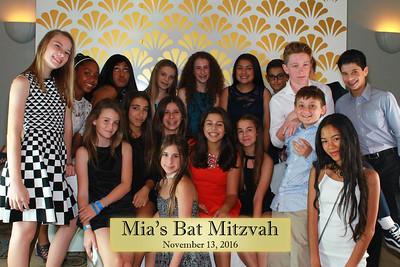 Mia's Bat Mitzvah 10/13/16