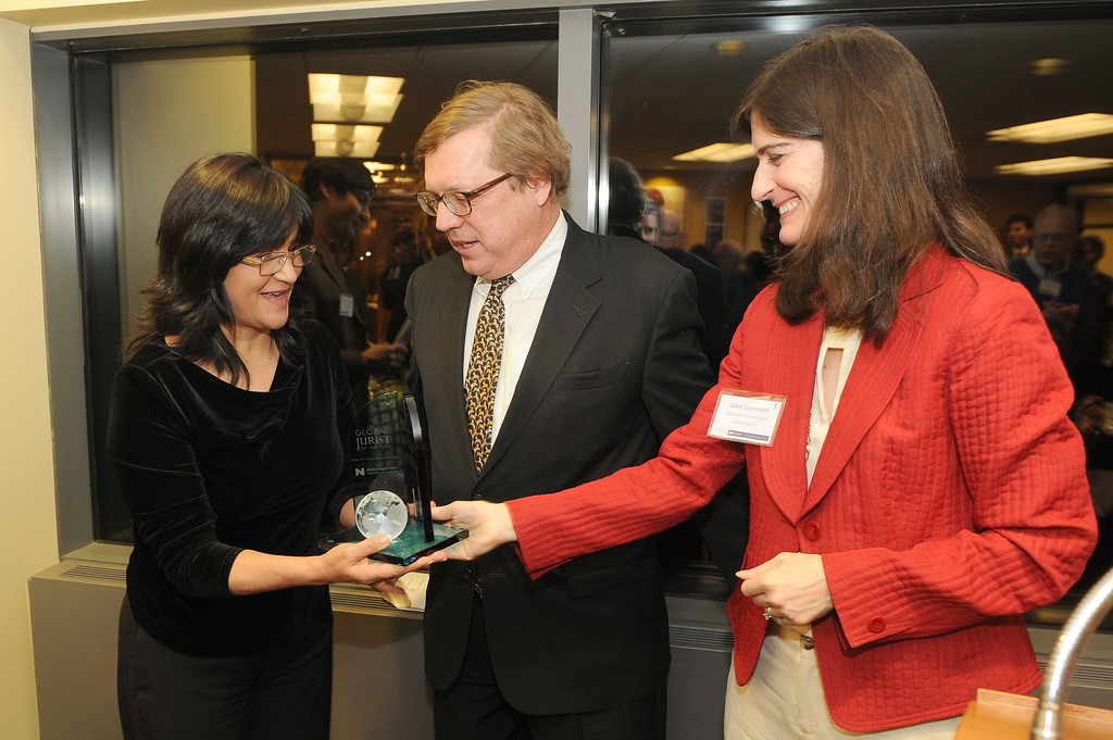 2015 Global Jurist of the Year dinner, January 26, 2016