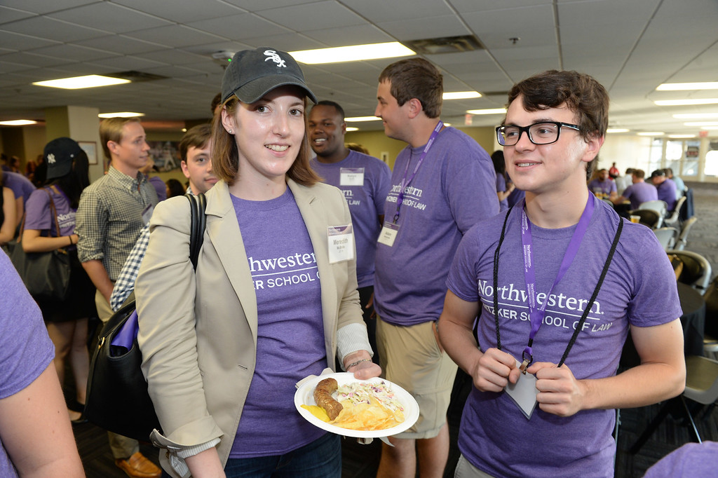 Northwestern Law, Office of Alumni Relations and Development, Chicago White Sox game and reception, August 19, 2016