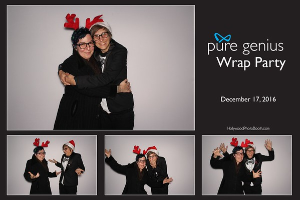 Pure Genius Wrap Party