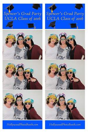 Spencer's Grad Party UCLA Class of 2016 - 6/12/2016