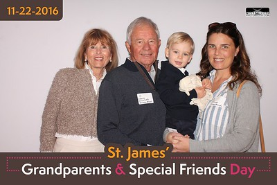 St. James' Grandparents and Special Friends Day - 11/22/2016