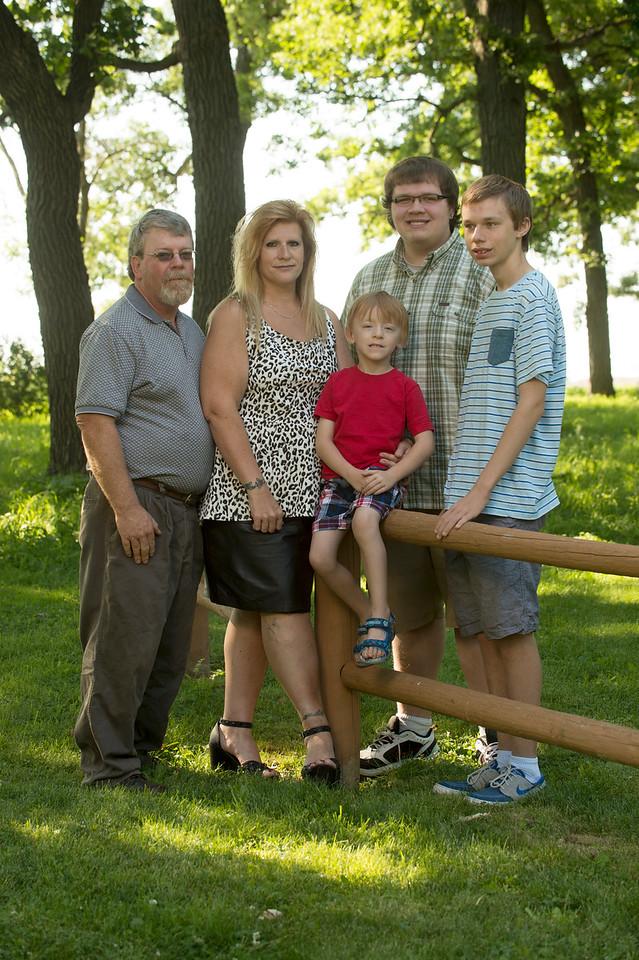 John and Sue Szarek family and friends, June 25, 2016