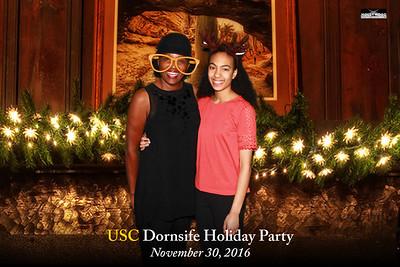 USC Dornsife Holiday Party 2016 - 11/30/2016