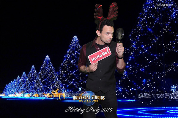 Universal Studios Holiday Party 2016 - 12/8/2016